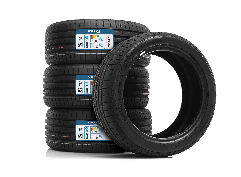 diferenciação da marca de pneu através da etiquetagem para banda de rodagem